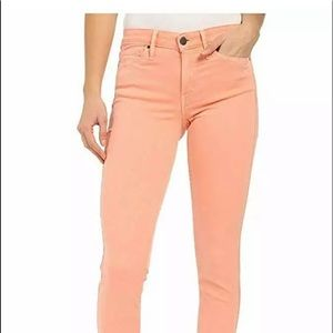 Womens Ankle Skinny Jeans Chintz Rose